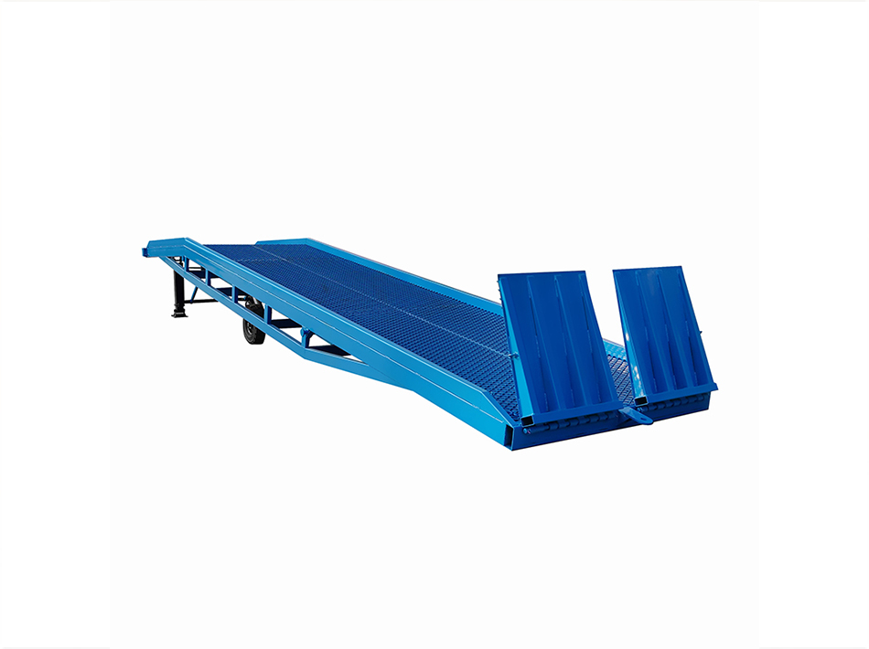 Mobile Forklift Loading Ramp DCQY-10